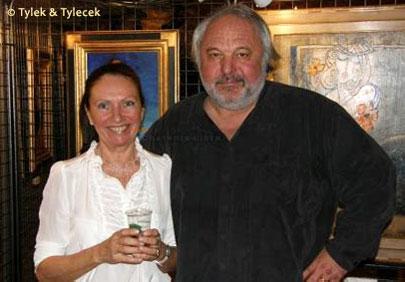 Le couple d'artistes peintres Tylek & Tylecek