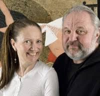 Portrait du couple d'artistes peintres TYLEK et TYLECEK