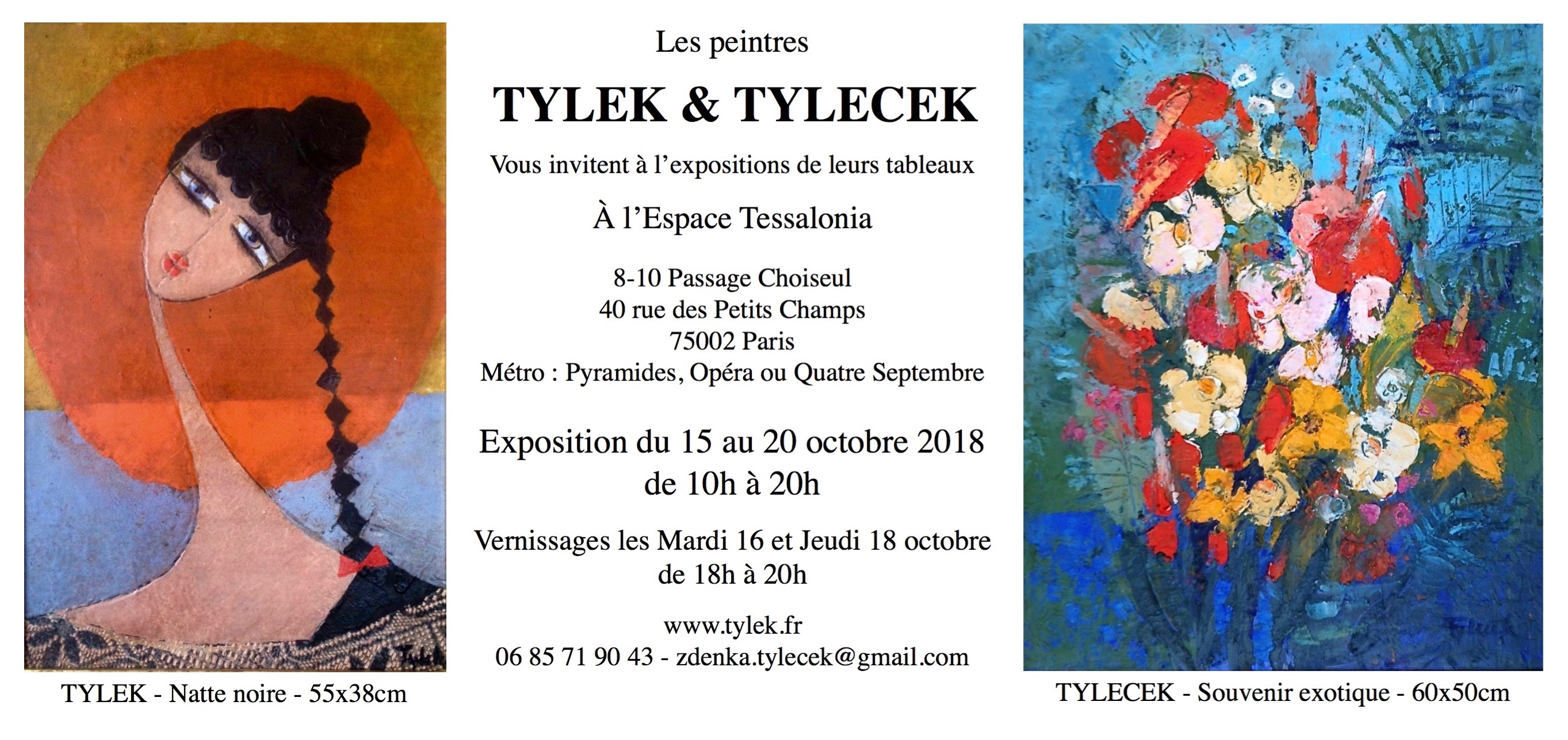 Expo Paris Tessalonia octobre 2018