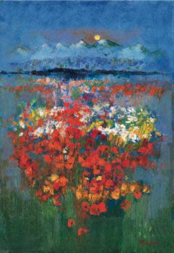 TYLECEK - Montagne fleurie