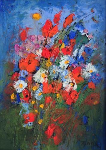 TYLECEK - Fleurs champêtres - VENDU