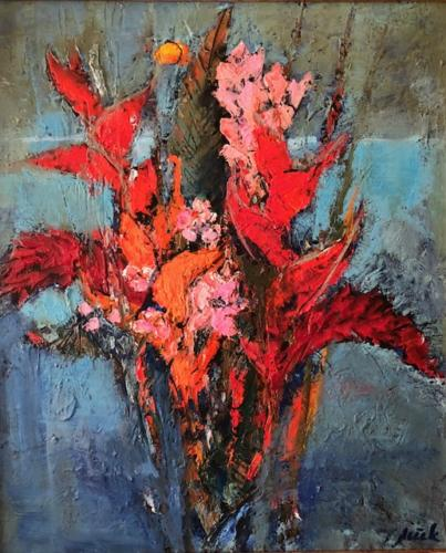 TYLECEK - Fleurs exotiques